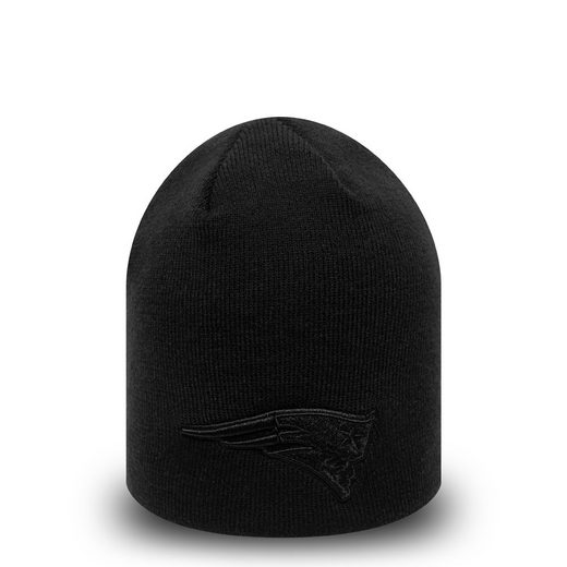 New Era Strickmütze »New Era NFL NEW ENGLAND PATRIOTS Dark Base Skull Beanie Knit Wintermütze«