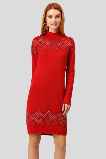 Finn Flare Jerseykleid mit stylischem Muster