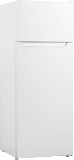 Hanseatic Top Freezer HTF14155FW, 143 cm hoch, 55,4 cm breit