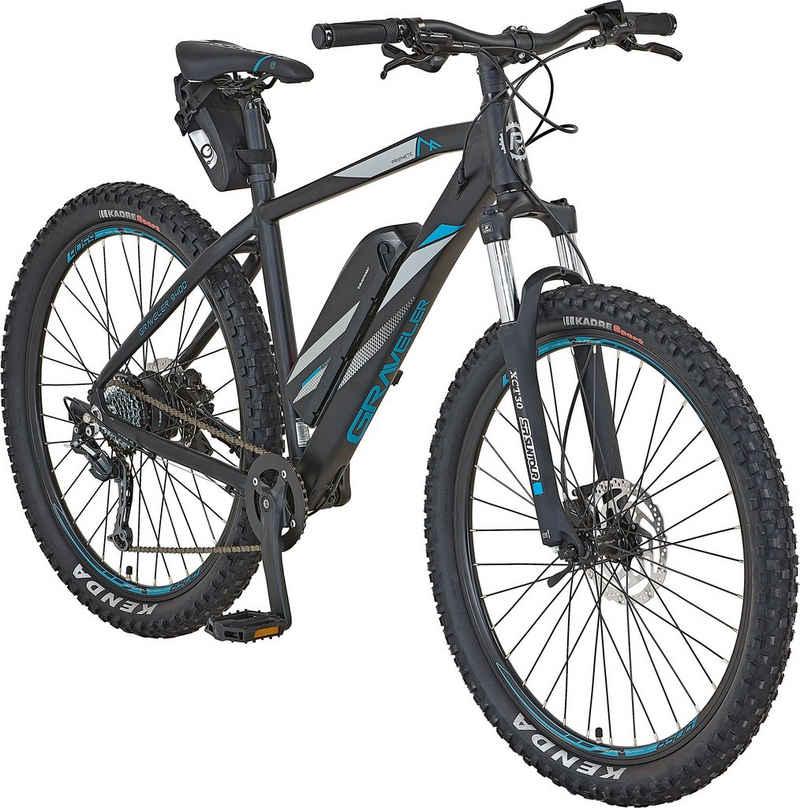 Prophete E-Bike »Graveler e9400«, 8 Gang Shimano Shimano Deore Schaltwerk, Kettenschaltung, Heckmotor 250 W, inkl. Pannenset und Tasche