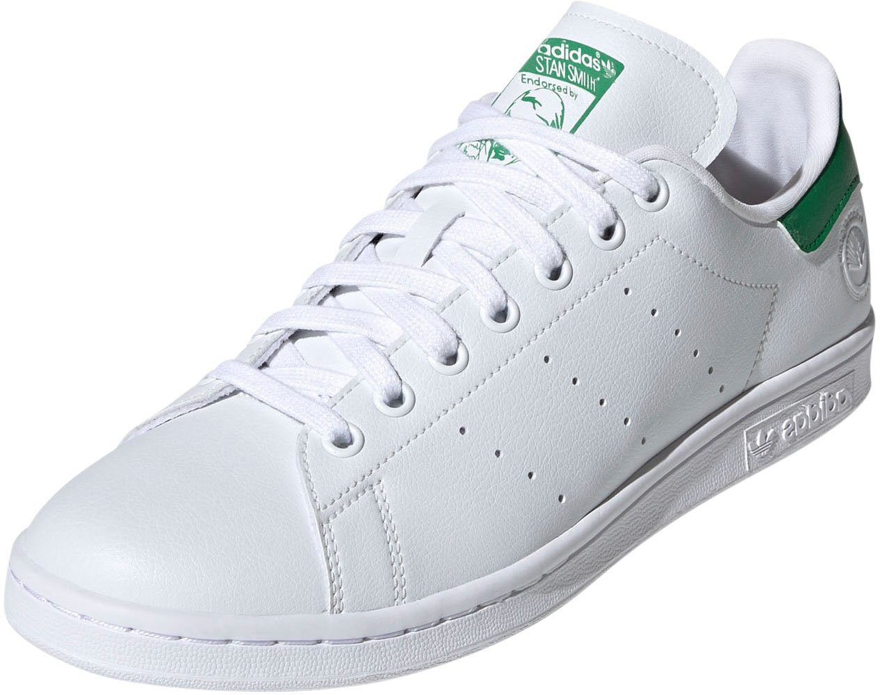 Adidas '' Stan Smith'' Trainings Jacke in weiß grün Größe M