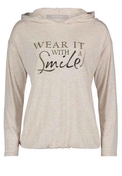 Betty&Co T-Shirt »mit Glanzeffekt« Druck