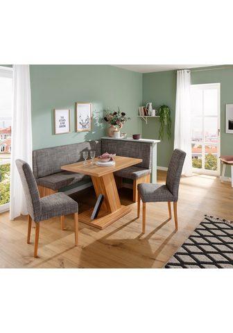 Home affaire Kampinis virtuvės suolas su kėdėmis »C...