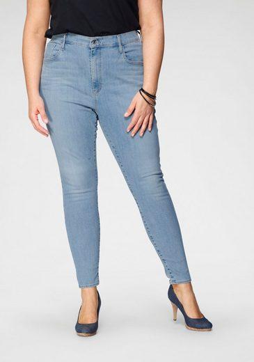 Levi's® Plus Skinny-fit-Jeans »Mile High« mit ultrahohem Bund
