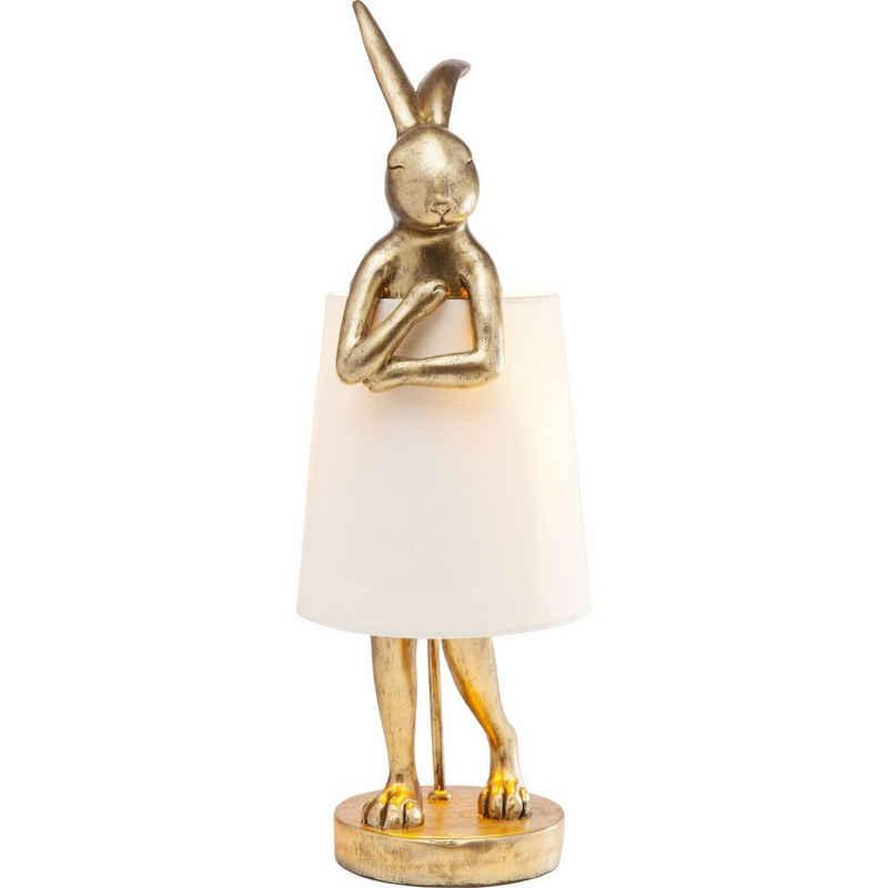 KARE Tischleuchte »Tischleuchte Animal Rabbit Gold«