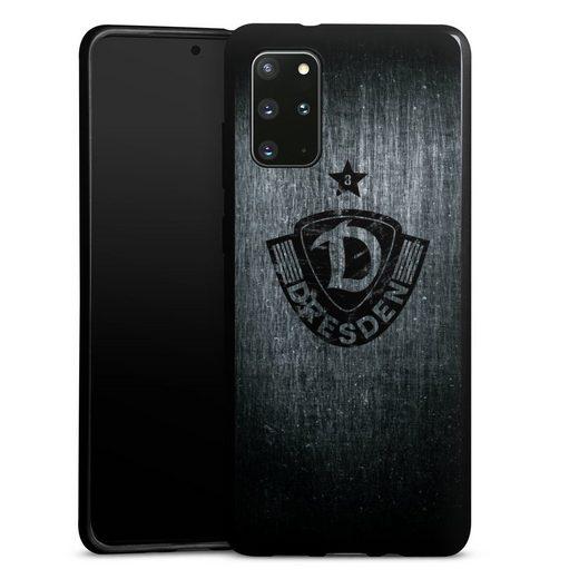 DeinDesign Handyhülle »Dynamo Scratch Black« Samsung Galaxy S20 Plus, Hülle SG Dynamo Dresden Offizielles Lizenzprodukt Vintage