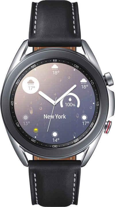 Samsung Galaxy Watch3, Edelstahl, 41 mm, LTE (SM-R855) Smartwatch (3 cm/1,2 Zoll)