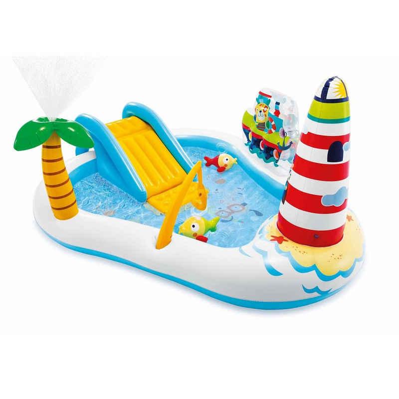 Intex Planschbecken »Intex 57162 - Fishing Fun Play Center«, BxLxH: 188x218x99 cm