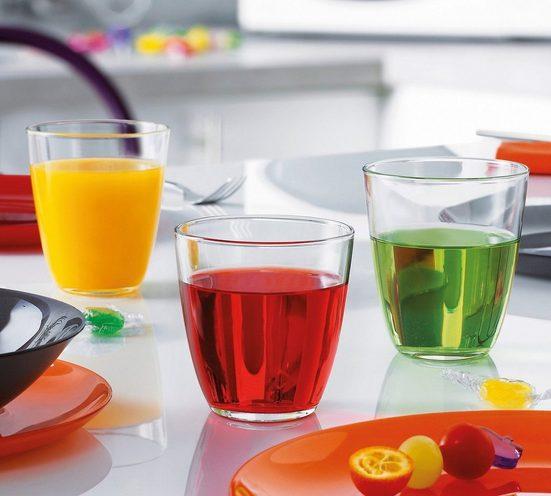 Luminarc Tumbler-Glas »Concepto«, Glas, Trinkglas Wasserglas Saftglas 250ml Glas transparent 6 Stück