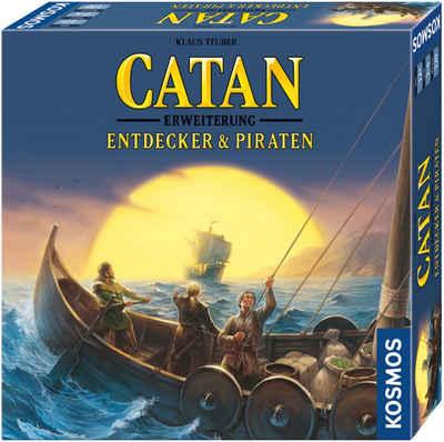 Kosmos Spiel, Erweiterungsspiel »Catan - Entdecker & Piraten«, Made in Germany