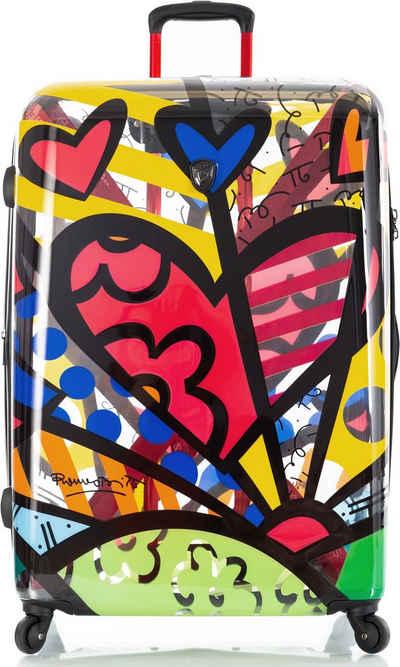 Heys Hartschalen-Trolley »Britto A New Day, 76 cm«, 4 Rollen, mit Volumenerweiterung