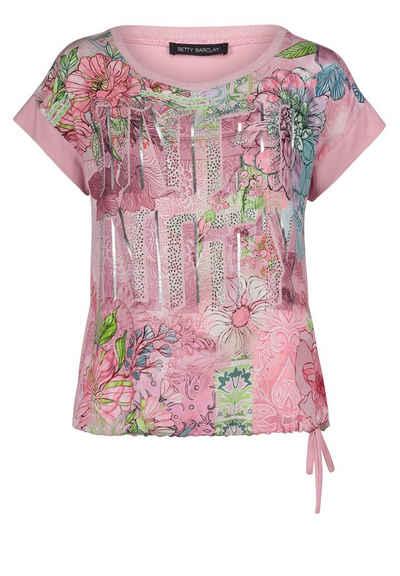 Betty Barclay T-Shirt »mit Tunnelzug« Glitzersteine