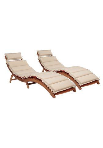MERXX Sodo gultas »Havanna« (2 vnt. rinkinys...