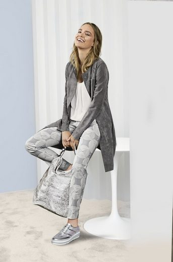 heine STYLE Ledermantel mit Taschen