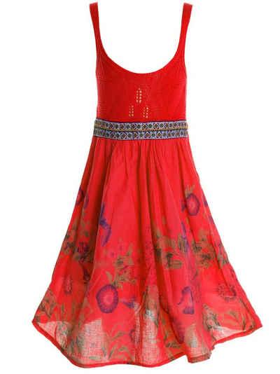 BEZLIT Sommerkleid »Mädchen Sommer Kleid« (1-tlg) oberteil gestrickt
