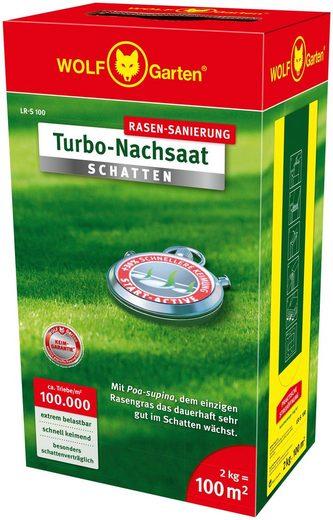 WOLF-Garten Rasensamen »LR-S 100 Turbo-Nachsaat SCHATTEN«, 2,0 kg