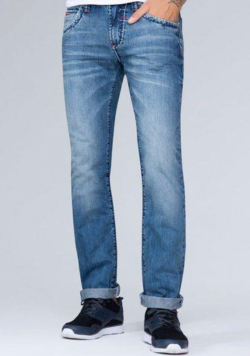 CAMP DAVID 5-Pocket-Jeans mit authentischer Waschung