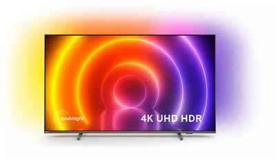 Philips 55PUS8106/12 LED-Fernseher (139 cm/55 Zoll, 4K Ultra HD, Android TV, Smart-TV, 3-seitiges Ambilight)