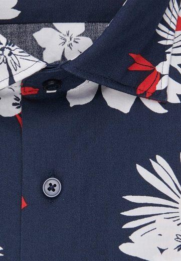 Schlussverkauf seidensticker Businesshemd »Regular« Regular Langarm Kentkragen Floral