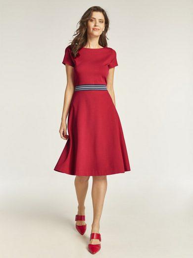 heine TIMELESS Jerseykleid mit Kontraststreifen