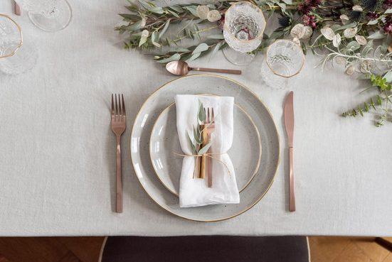Guido Maria Kretschmer Home&Living Besteck-Set »Bronze Look«, Edelstahl 18/10, PVD bronze mattiert