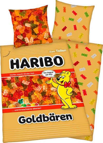 Wendebettwäsche »Haribo Goldbären«, HARIBO, mit tollem Motiv