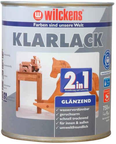 Wilckens Farben Lasur »2in1 Klarlack glänzend«, Lack und Lasur in einem, geeignet für Kinderspielzeug