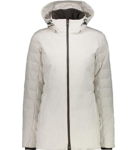 CAMPAGNOLO Anorak »Campagnolo Coat Fix Hood Softshell-Jacke winterfeste Damen Outdoor-Jacke mit ClimaProtect Wander-Jacke Weiß«
