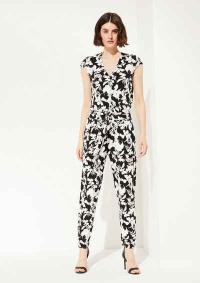 Comma Overall »Jumpsuit aus Edeljersey« (1-tlg)