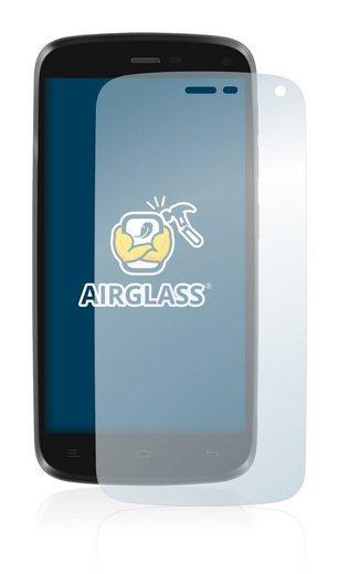 BROTECT Schutzfolie »Panzerglasfolie für General Mobile Discovery«, Schutzglas Glasfolie klar