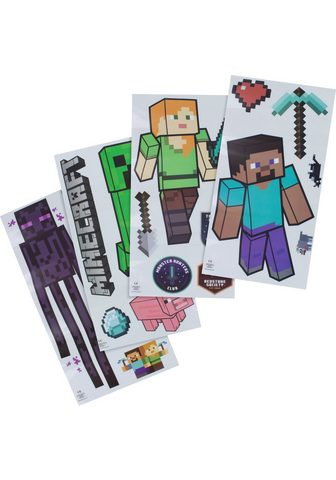 Paladone Wandsticker »Minecraft Wand Aufkleber«...