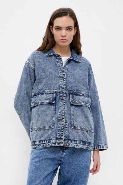 Finn Flare Jeansjacke mit modischer Waschung