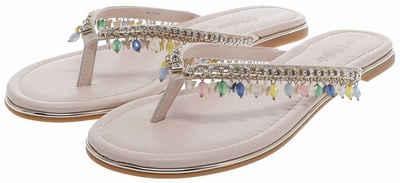 Buffalo »RAISA Damen Sandale Beige« Sneaker 100% VEGAN