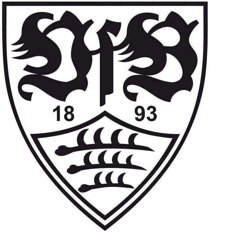 wandtattoo »fußball vfb stuttgart logo« 1 stück  otto