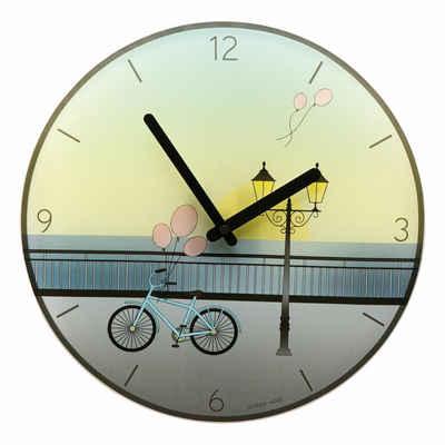 Goebel Wanduhr »Scandic Home Bicycle Ø 30.5 cm 23100491«