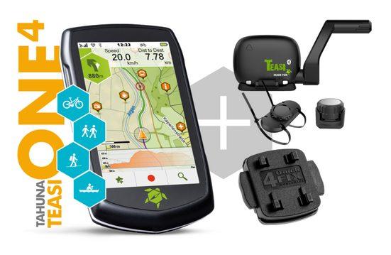 TAHUNA Outdoor-Navigationsgerät »TEASI ONE4«