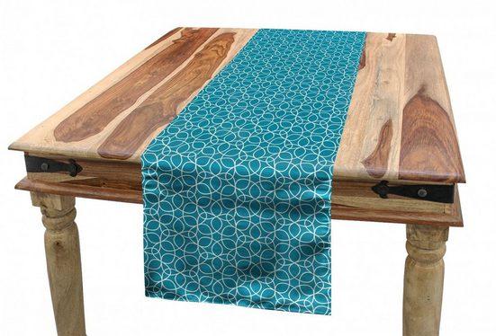 Abakuhaus Tischläufer »Esszimmer Küche Rechteckiger Dekorativer Tischläufer«, Abstrakt Moderne Triangular Motive