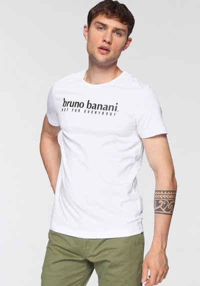 Bruno Banani T-Shirt (2er-Pack) mit Markenfrontprint