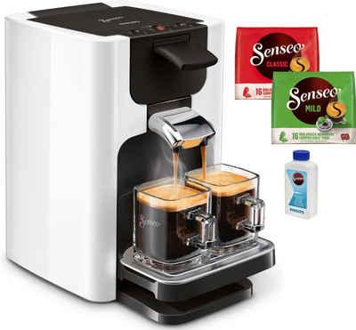 Senseo Kaffeepadmaschine Quadrante HD7865/00, inkl. Gratis-Zugaben im Wert von € 14,- UVP