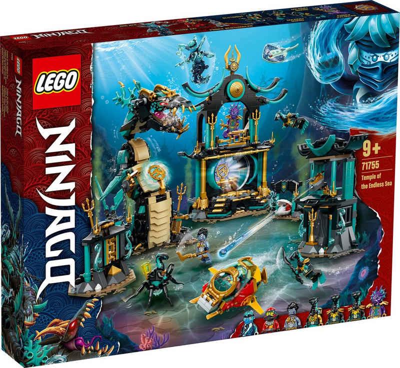 LEGO® Konstruktionsspielsteine »Tempel des unendlichen Ozeans (71755), LEGO® NINJAGO®«, (1060 St), Made in Europe