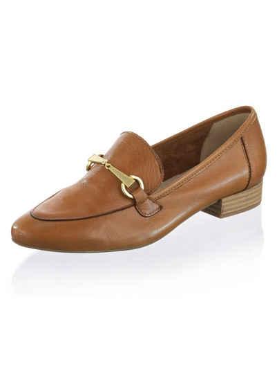 Alba Moda Slipper aus weichem Leder