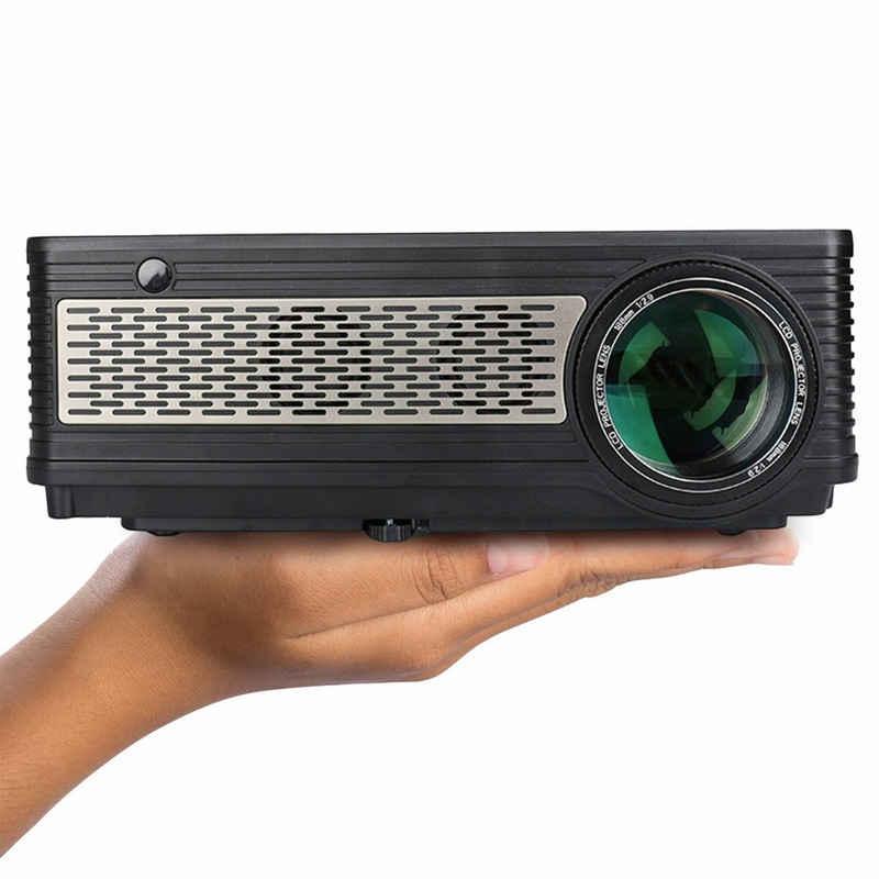 LA VAGUE »LV-HD400« LED-Beamer (3200 lm, 1000:1, 1920 x 1080 px, Kompakter Full HD-Projektor mit ultra-langlebiger LED-Lampe)