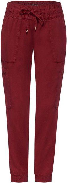 Hosen - Cecil Jogger Pants »Chelsea« mit Cargotaschen an den Beinen › braun  - Onlineshop OTTO