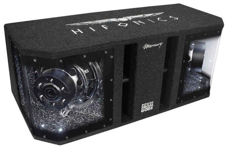 Hifonics Subwoofer (Hifonics Mercury MR10Dual - 2x25cm Gehäusewoofer)
