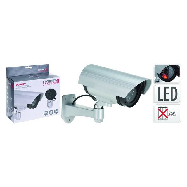 HTI-Living »Kamera Attrappe CCTV« Überwachungskamera (In- & Outdoor)