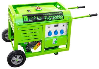 ZIPPER Stromerzeuger »ZI-STE8000«, 8 in kW, 2,66 in kW