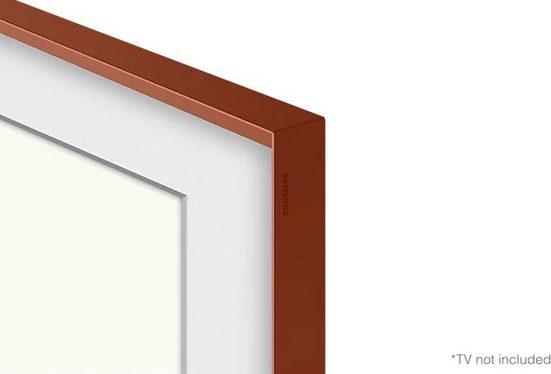 """Samsung Rahmen »55"""" Frame Rahmen Abgeschrägt Terracotta (2021)«"""