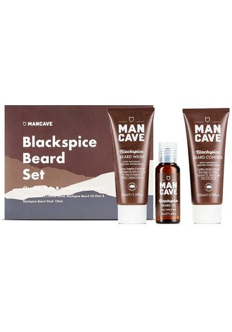 MAN CAVE Bartpflege-Set »Blackspice Beard Set« ...