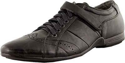 Luvanni »Luvanni Basic Herren Schnuerschuhe Halbschuhe Sneaker Herrenschuhe Lederimitat weiss schwarz E65501« Schnürschuh