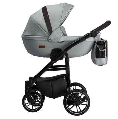 Clamaro Kombi-Kinderwagen, Grander Kinderwagen 2in1 Kombikinderwagen von Clamaro
